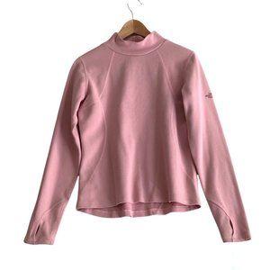 The North Face Women's Sz Medium Flight Series Turtleneck Pink Long-Sleeve Shirt